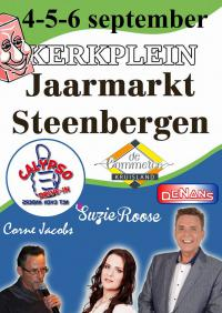 Jaarmarkt Steenbergen - Podium De Commerce
